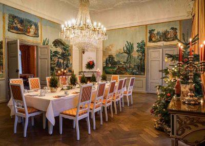 Gartensaal Herrenhaus Borgorst Frühstück