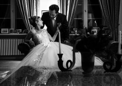 Braut im Afrikazimmer