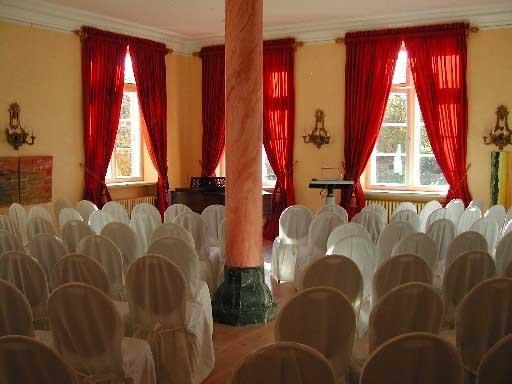 Herrenhaus Borghorst  Tagungen Bestuhlung