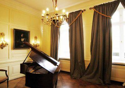 Klavierzimmer Herrenhaus Borghorst