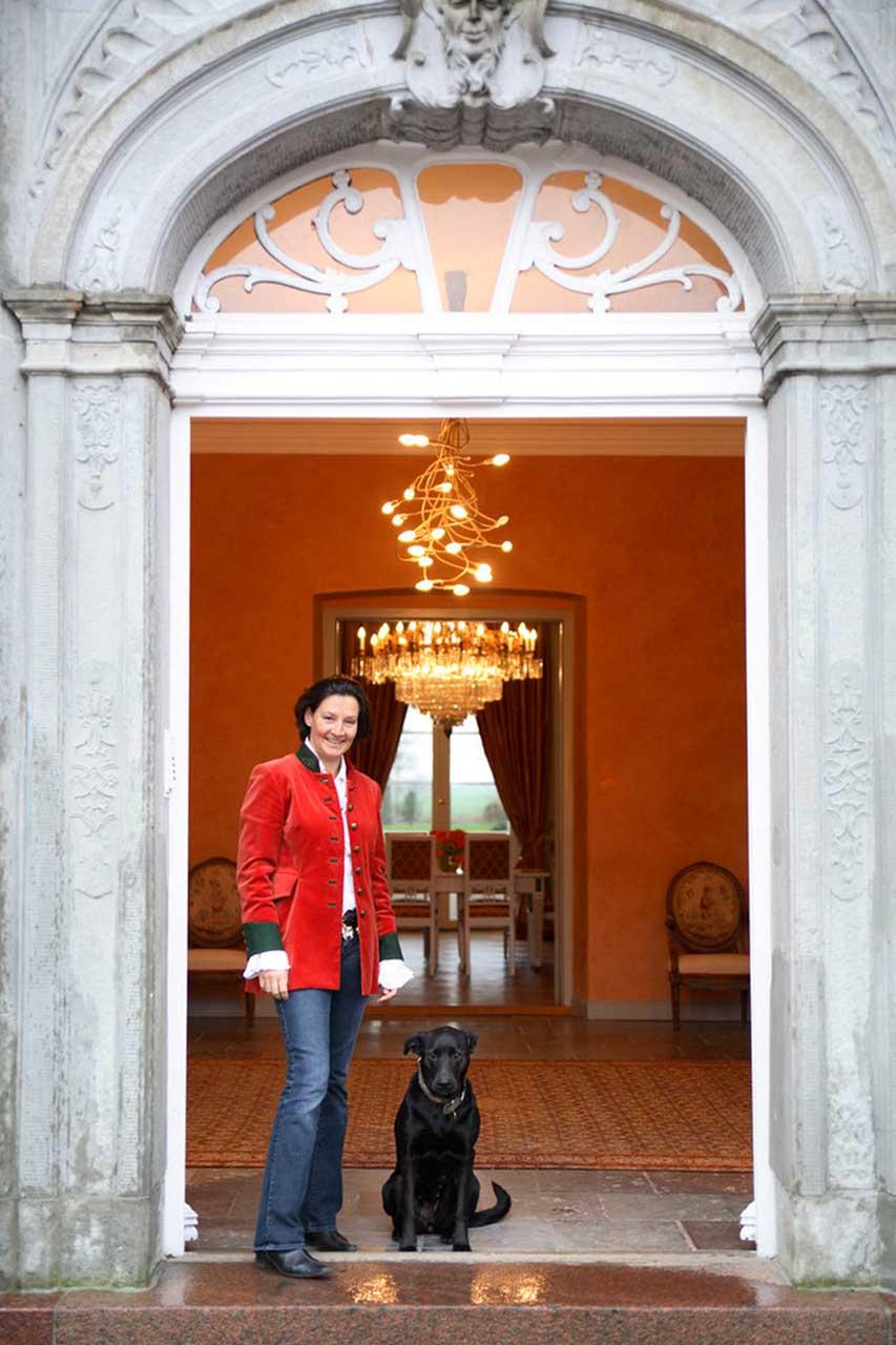 Caroline Odefey Haupteingang Herrenhaus Borghorst