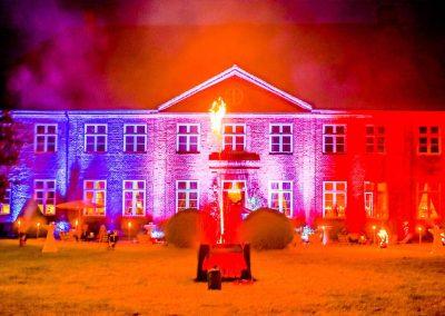 Feuerwerk und Lasershow im Herrenhaus Borghorst 2