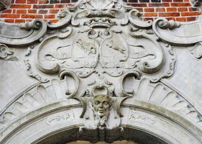 Herrenhaus Borghorst Eingang