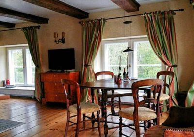 Herrenhaus Borghorst Entensuite Wohnzimmer 2