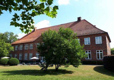 Herrenhaus Borghorst Rückseite