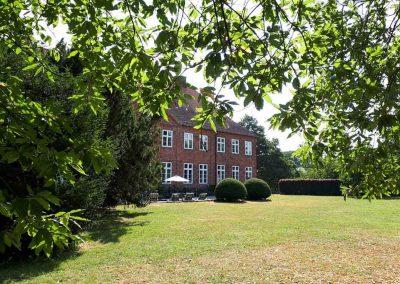 Herrenhaus Borghorst Rückseite 2