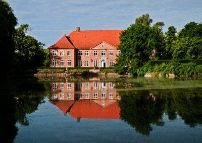 Teich Herrenhaus Borghorst