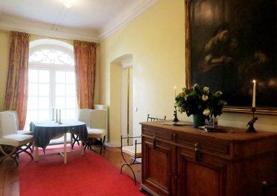 Herrenhaus Borghorst Parksuite Esszimmer 2