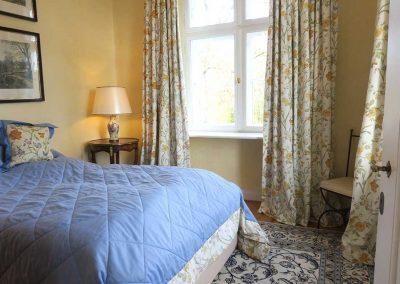 Herrenhaus Borghorst Parksuite Schlafzimmer 2