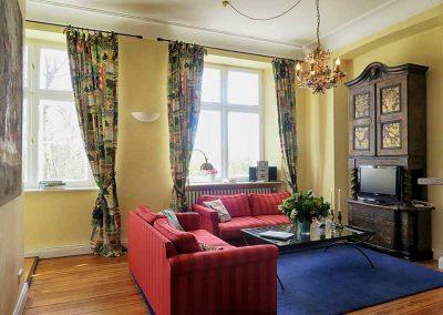 Herrenhaus Borghorst Parksuite Wohnzimmer